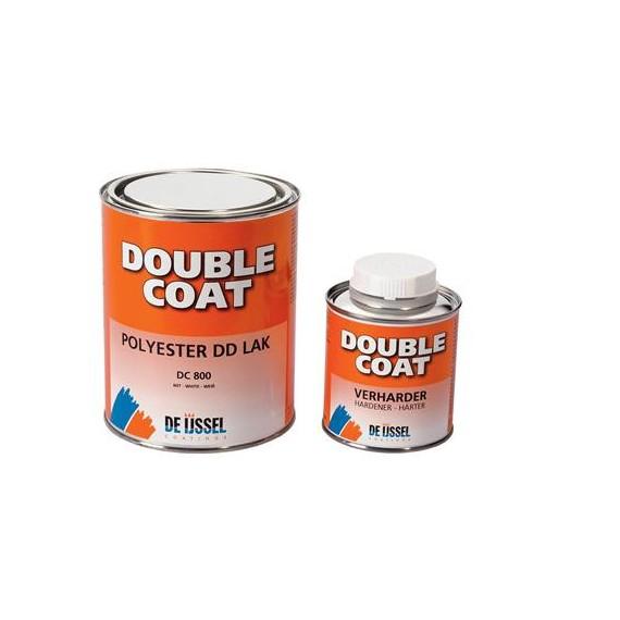 Double Coat sett halvblank